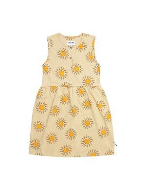 CarlijnQ Tanktop Dress Longer Model Sunshine