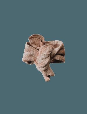 Susukoshi - Teddy Headband Terracotta