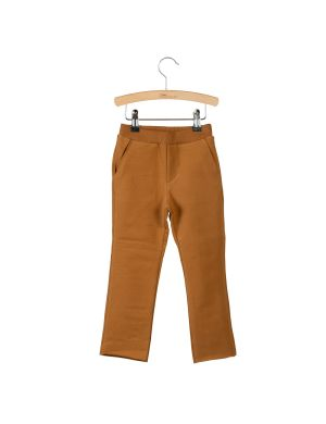 Little Hedonist Slim Sweatpants Toni Caramel Brown
