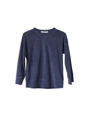 I Dig Denim Totte Sweater Dark Blue