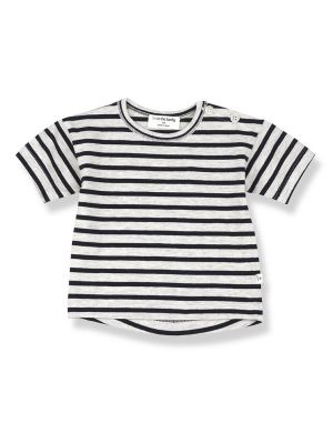 1+ in the family Vence T-shirt Blue Notte