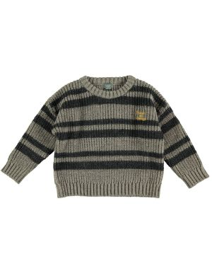 Tocoto Vintage Striped Knitted Sweater